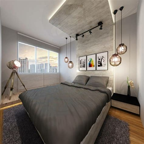 D 233 Co Chambre Parentale De Style Industriel Chic