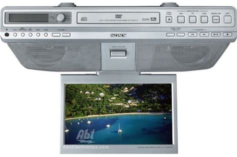 sony cabinet tv sony cabinet lcd tv dvd cd clock radio silver