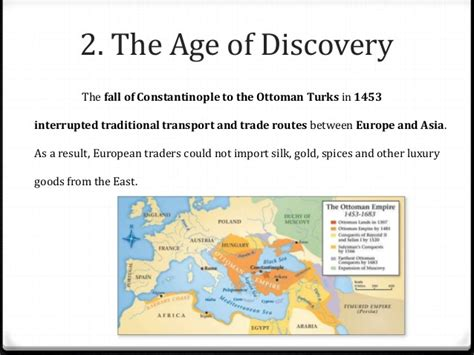 the ottoman age of exploration unit 2 the early modern age ancien regime