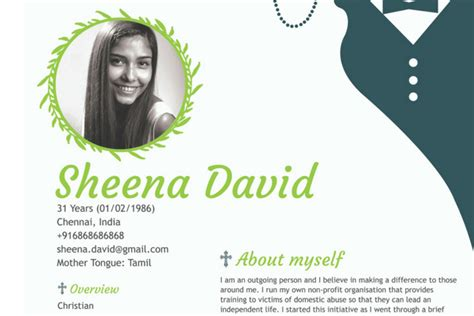 sections of resume christian marriage biodata format samples for download