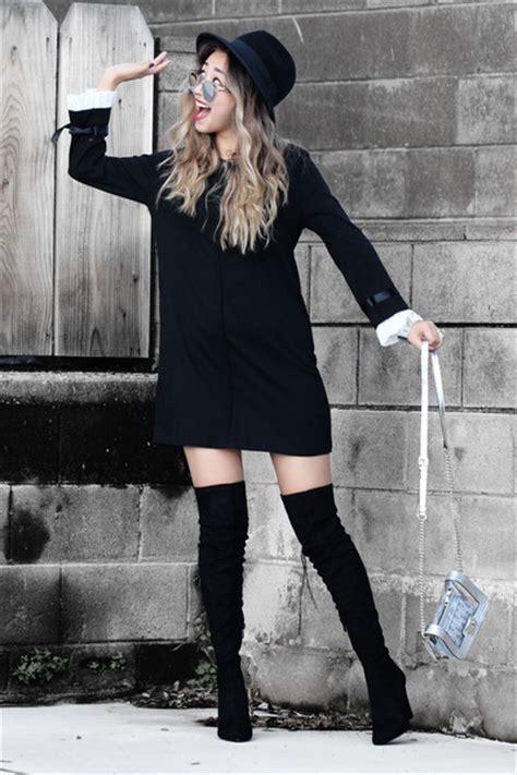Nesa Shopp Desire Dress Gc black desire boots black sheinside dresses black