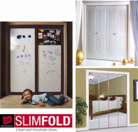 Slimfold Wardrobe Closet System Dunbarton Corporation Slimfold Closet Doors