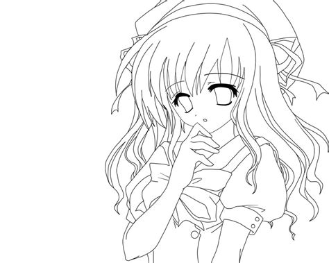 cute anime girl coloring pages gianfreda net