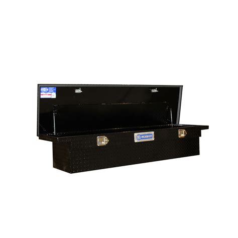 truck tool box shop kobalt 69 in x 20 in x 13 in black aluminum full size