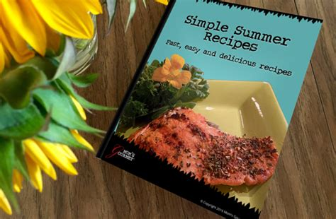download simple summer recipes cookbook mom s gourmet artisan spice blends