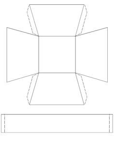 free printable paper basket template in 3 styles to