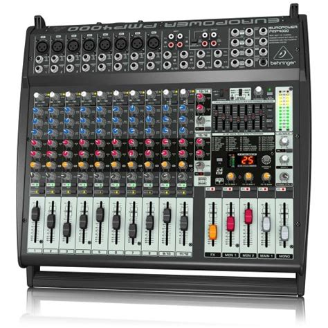 Power Mixer Behringer Pmp4000 behringer europower pmp4000 powered mixer 16 channels