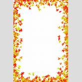 Fall Flower Border Clipart - Clipart Kid