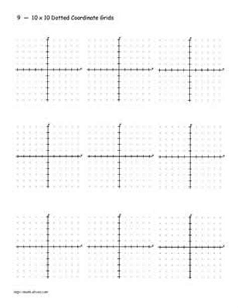 printable mini graphs practice your graphing with this printable 20 x 20 grid