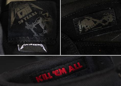 Jual Vans Half Cab Metallica vans half cab x metallica sneakers