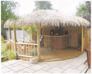 backyard tiki huts the o jays awesome and backyards on pinterest