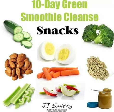 26 Day Detox The Green Smoothie by 64 Best Jj Smith Approved Snacks Images On