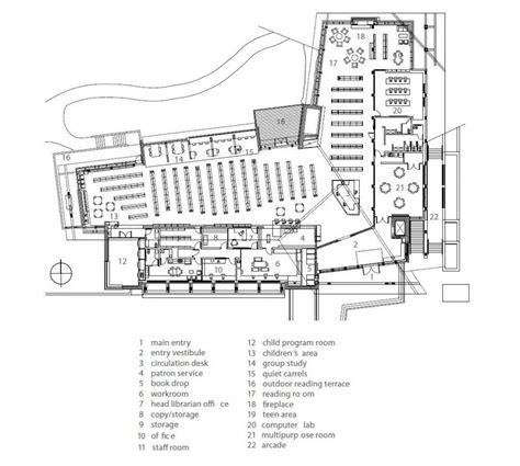 seattle public library floor plans whistler public library design by hughes condon marler