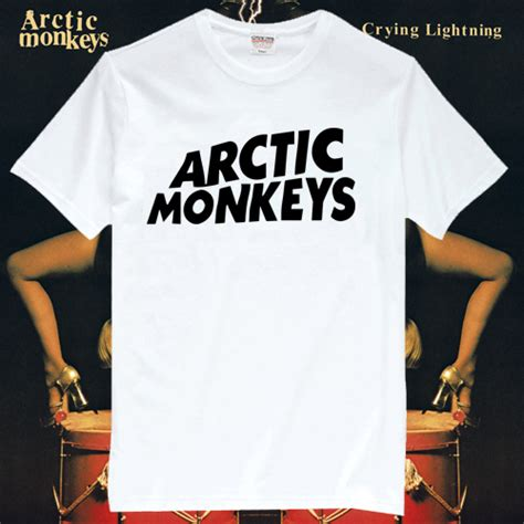T Shirt Band Arctic Monkeys arctic monkeys rock band t shirts am001 in t shirts from
