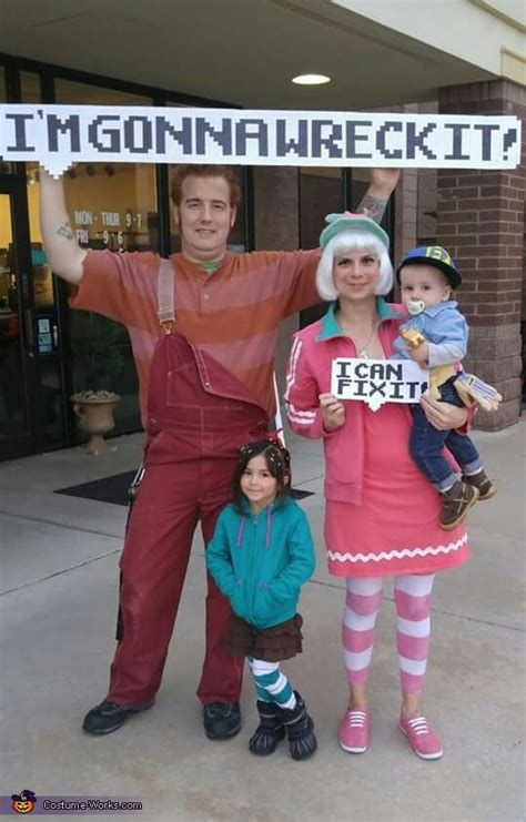 wreck  ralph family costume coolest diy costumes