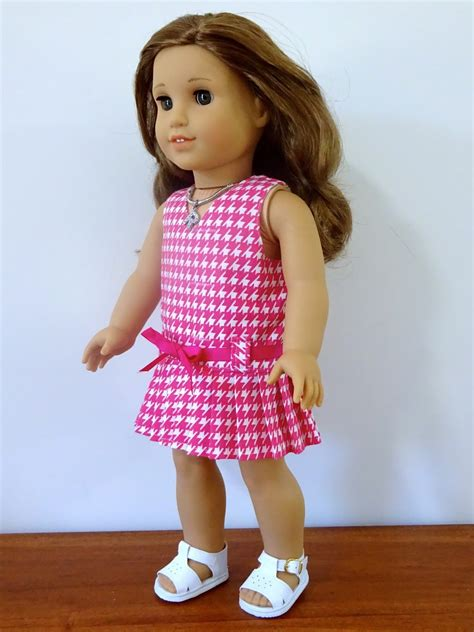 Pretty Doll Dress doll clothes patterns by valspierssews pretty pleats a