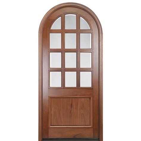 12 Lite Exterior Door Mai Doors A758g 42rt Top Pre Hung 12 Lite Tdl Andean Walnut Door