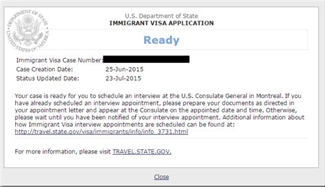 appointment letter received from the nvc k1 visa cover letter exle