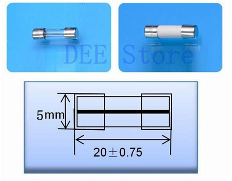Fuse Kaca Mini 5 X 20mm 5x20 fuseholder mini fuse block fuse holder chassis panel mount fuseholder for 5 20mm