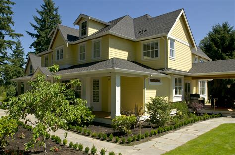 yellow house design nice yellow nuance of the exterior colour paint that can be decor with yellow concrete