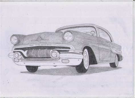 vintage cars drawings classic car drawings july 2014