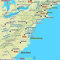 map of eastern seaboard united states map of eastern seaboard united states