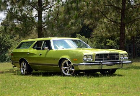 green station wagon 1973 ford gran torino wagon we had a kelly green one with