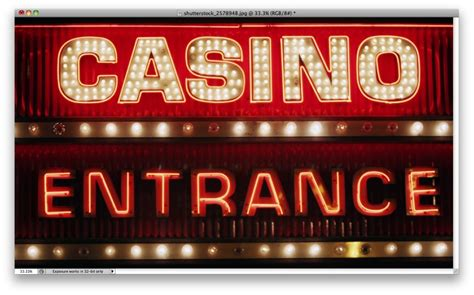 Lights Casino by Easy Casino Style Sign In Photoshop
