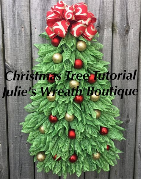 when to put deco wreath on christmas tree tree tutorial diy wreath tutorial