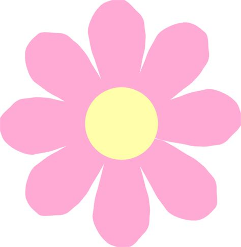 Clipart Of Flower flower clip at clker vector clip royalty free domain