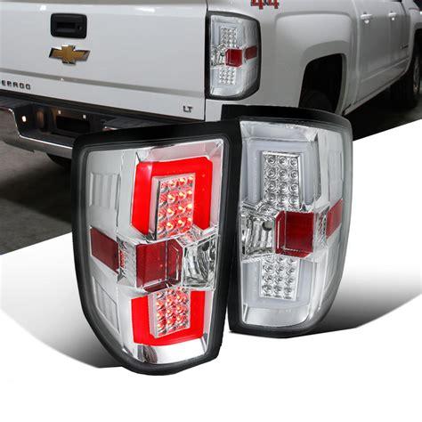 2017 chevy silverado tail lights 2014 2017 chevy silverado led bar style tail lights