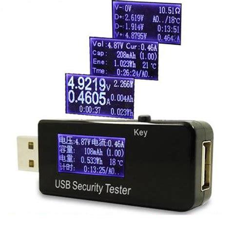 Usb Multimeter usb volt voltage current meter voltmeter detector power