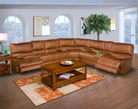 power reclining sectional sofa the best reclining sofas ratings reviews barton 6 pc