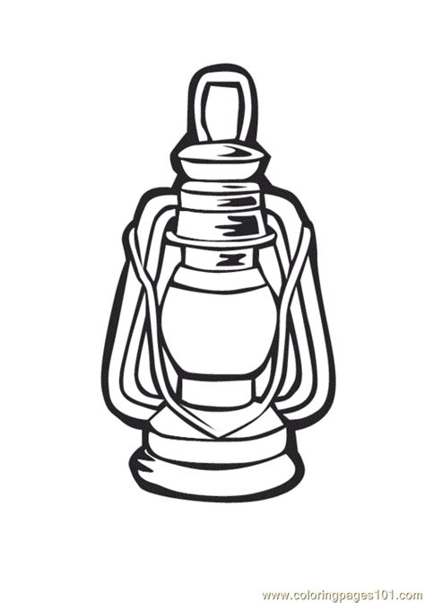 Lantern Coloring Page lantern coloring page coloring home