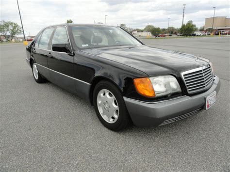 Mercedes Flagship by Mercedes S Class Sedan 1992 Black For Sale