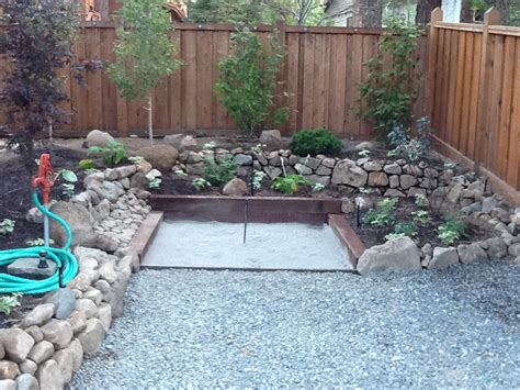 Landscape Timber Horseshoe Pit Landscape Design High Gardens