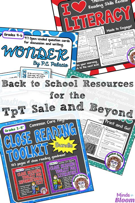 beyond and desire a sins for all seasons novel back to school resources for the tpt sale and beyond