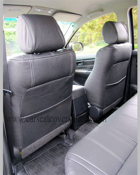 Toyota Hilux Leather Seat Covers Toyota Hilux Invincible Leather Retrim Car Seat Covers