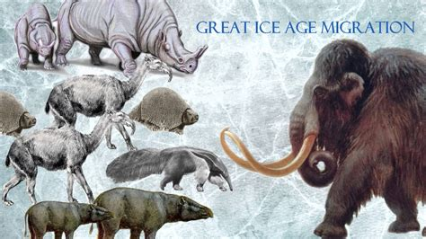 animal during great ice age ice age characters in real life part 1 youtube