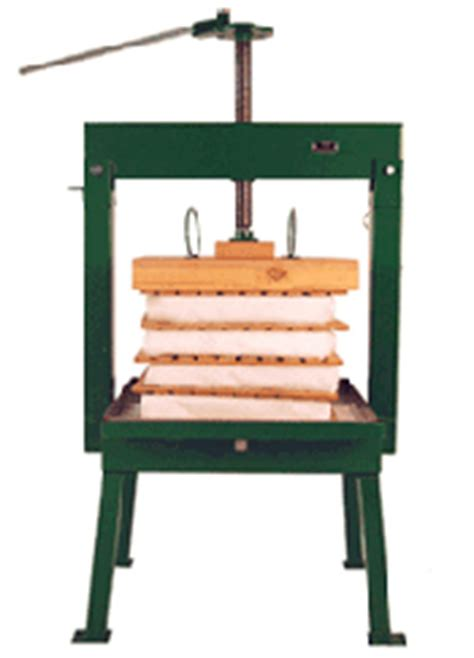 Rack And Cloth Cider Press by The Cider Workshop Equipment Pressing