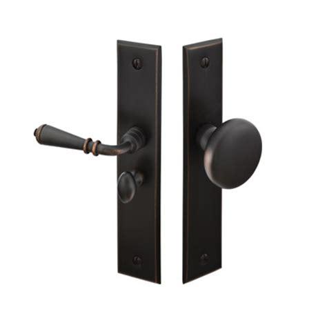 Screen Door Door Knobs by Emtek 2291 Rectangular Style Screen Door Lock Brass Or