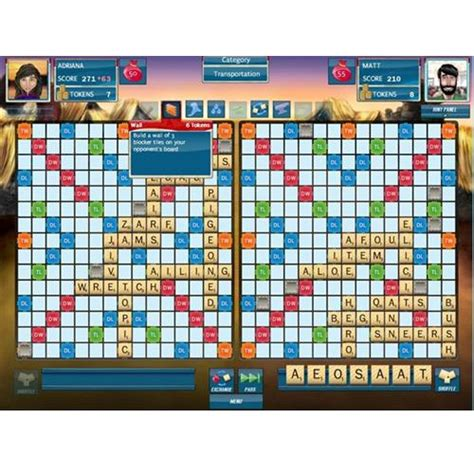scrabble puzzles scrabble plus crossword pc computer windows xp