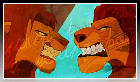 this is the lion kings simba and mufasa in real life lion king mufasa and simba