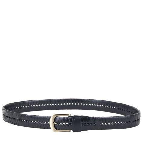 woven leather belt smith canova