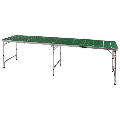 folding ping pong table ys 8ft aluminum portable folding ping pong table