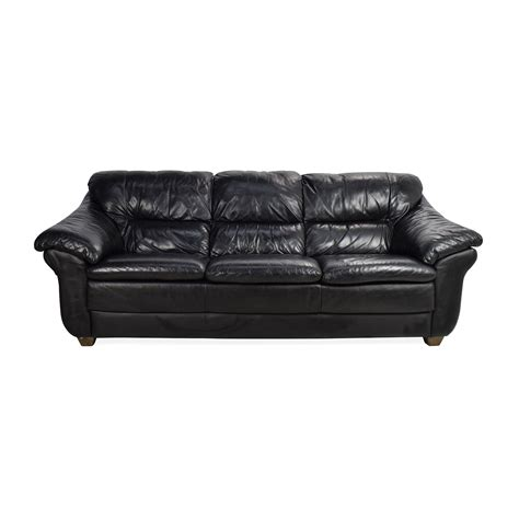 natuzzi black leather sofa second hand leather sofas sofas fabulous studded sofa sets