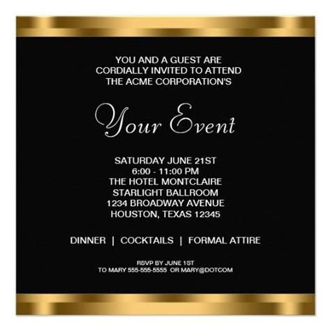 corporate event invitation template invites idea corporate parties event invitation design