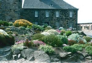 South Garden Castle Rock Gardens United Kingdom Edinburgh Castle Rock Garden City Of Vancouver Archives
