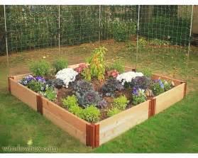 Cedar Raised Garden Bed Kit - garden box kit cedar complete raised garden bed kit 8 x