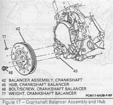 harmonic balancer diagram heads and install guide for a 1994 lt 1